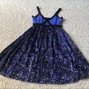 Bebe fit and flare summer dress
